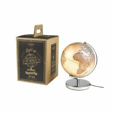 "#CS-GH WILD & WOLF GENTLEMENS HARDWARE NEW ""LIGHT UP MY WORLD"" 10"" LIGHTED GLOBE"