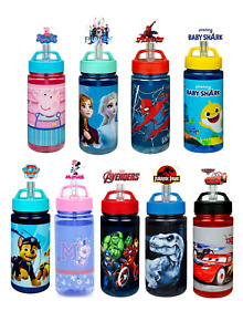 Kids Character Scooli Aero  Bottle With Integrated Straw Drinking Nozzle 500ML