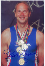 STEVE REDGRAVE - Signed 12x8 Photograph - SPORT - ROWING