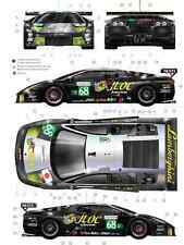 [FFSMC Productions] Decals 1/24 Lamborghini JLOC Racing #68 LM2009 avec Carbone