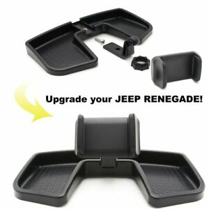 Phone Holder Car Dash 360 Degree Rotate ABS Storage Box Stand for Jeep Renegade