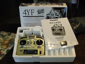 Futaba 4YF 4-Channel Radio System with R2004GF Receiver