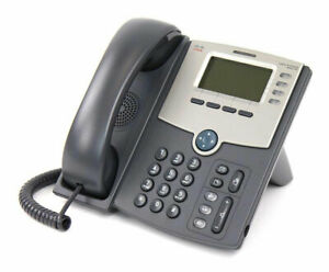 Used Cisco SPA514G LCD IP phone with stand