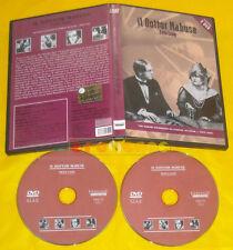 IL DOTTOR MABUSE di Fritz Lang Dvd (2 Dvd) »»»»» USATO