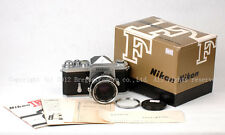 Ex Nikon F+ 50mm f/2+ Early Edition + Original package+ in good condition !