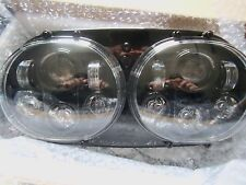 HARLEY Road Glide '04-'13 LED HEADLIGHT HI-LOW DUAL BEAM SUPER BRIGHT 80 W