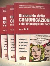 DIZIONARIO DELLA COMUNICAZIONE E DEL LINGUAGGIO DEL CORPO Istituto Riza Medicina