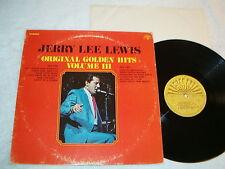 """Jerry Lee Lewis """"Original Golden Hits III"""" 1970's Rock LP, VG+, Vinyl, 3, Three"""