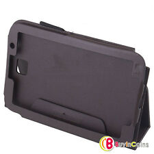 Black Leather Look Case Cover Stand Holder Samsung Galaxy Note Tablet 8.0 N5100
