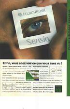 PUBLICITE ADVERTISING    1989   FUJICHROME SENSIA 100  film