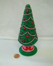 PLAYSKOOL Dollhouse CHRISTMAS TREE HOLIDAY 6 inches Vintage for Loving Family