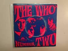 "WHO: Number Two-Australia 7"" Polydor Production International EPH-60039 Mono PCV"