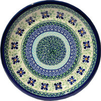 Polish Pottery Dinner Plate 9.5 Inch from Zaklady Boleslawiec 1001/du121