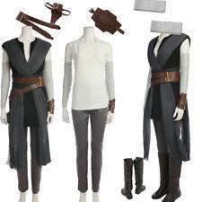 New Star Wars 8 The Last Jedi The Force Awakens Rey Cosplay Costume Custom Size