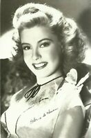 Gloria DeHaven Hollywood Actress Movie Star 1940s Real Photo Postcard