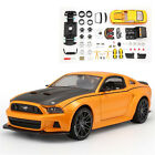 Maisto 1:24 Ford Mustang Street Racer Diecast Assembly Metal KIT DIY Model Car