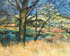 Dealer or Reseller Listed Green Impressionism Art Paintings