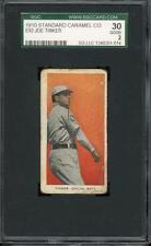 1910 E93 - Joe Tinker - Chicago Cubs - HOF - SGC 30