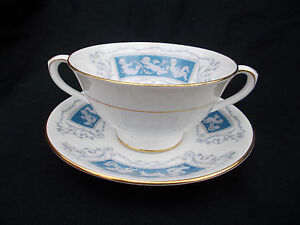 Coalport REVELRY.  Soup Cup and Saucer