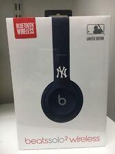 MLB Beats New York Yankees Solo 2 Special Edition Wireless Bluetooth Headphones