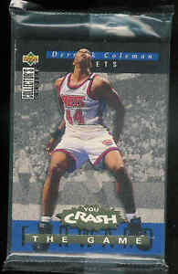 1994-95 COLLECTOR'S CHOICE BASKETBALL CRASH THE GAME REBOUNDS REDEMPTION SET