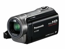 Panasonic V500, Full HD, 3D Ready, Camcorder - Black