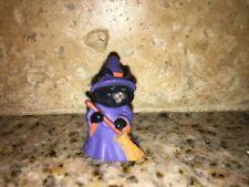 HALLMARK Halloween Merry Miniature 1991 Cat Witch