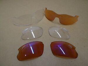 Tifosi Optics Lenses Various With Case + Pouches