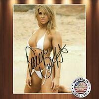 Paige VanZant Autographed Signed 8x10 High Quality Premium Photo REPRINT