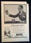 1922 Vintage Men's Clothing Mag Ad ~ Kumapart Belt Buckle ~artist FX Leyendecker