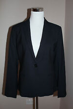 $390 NWT THEORY GABRIO ADJURE UNIFORM WOOL  BLAZER SZ 12