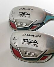 PAIR Adams Idea a3 Boxer 19° & 22° Hybrid 3 & 4 Prolaunch Red HY / REGULAR RH