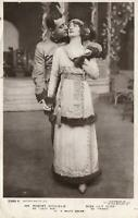 1911 VINTAGE PHOTO MR ROBERT MICHAELIS & MISS LILY ELSIE Rotary Photo POSTCARD