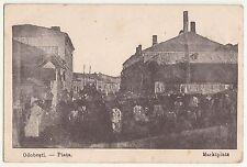 Ak Odobești Piata Marktplatz 1917 IWW Rumänien !