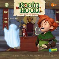 ROBIN HOOD-SCHLITZOHR VON SHERWOOD - (6) HÖRSPIEL -DER SCHLOSSGEIST  CD NEU