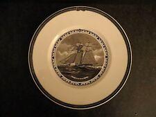 "Wedgwood American Sailing Ship Plates The Raven 10.25"" Nautical Motif"