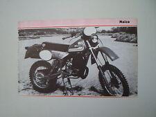 - RITAGLIO DI GIORNALE ANNO 1982 - MOTO MAICO GS 490
