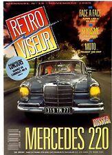 RETROVISEUR 15 DOSSIER MERCEDES W111 1959 1965 ALPINE A110 1300 G CG 1300 BRACQ