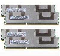 For Samsung 4X 8GB PC3L-10600R 2Rx4 DDR3 1333Mhz Reg-DIMM ECC Server Memory @1H