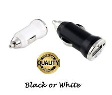 New Universal USB In car bullet cigar plug charger adaptor for all mobile phones
