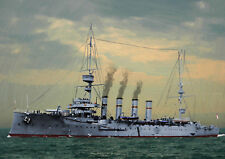 HMS HAMPSHIRE WW1 - HAND FINISHED, LIMITED EDITION (25)