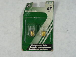 General Electric 57/BP2 23218 Low-Voltage Automotive Replacement Bulb ! NEW !