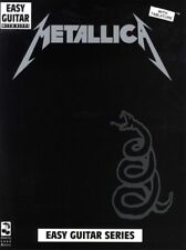 METALLICA THE BLACK ALBUM EASY GUITAR TAB SONGBOOK *BRAND NEW* SHEET MUSIC