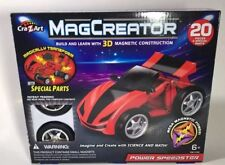 MagCreator Magnetic Construction 20 Pc Set Power Speedster CraZArt Stem Toy