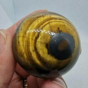 Tigers Eye Sphere 78gm, 36mm