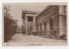 The Museum Leicester 1917 RP Postcard 304a