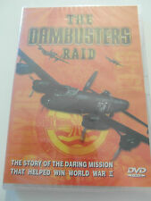 The Dambusters Raid - World War II - DVD Sealed New / All Regions / PAL