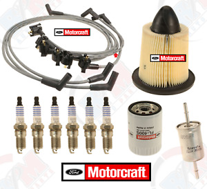 MOTORCRAFT Tune-Up kit w/ Wire Set for 1999-2000 Ford Mustang 3.8L