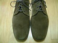 Men's Chukka Boots JOHNSTON & MURPHY Sz 11 M Brown Suede, Crepe Rubber Soles