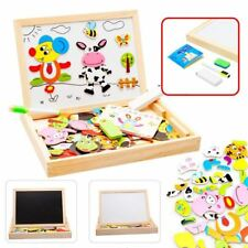 Children Interactive Drawing & Playing Magnetic White & Black Board